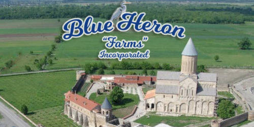 Blue Heron Farms Logo